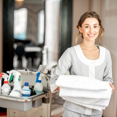 Housekeeping Cart & Trolley